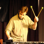 "Performing ""Links No. 1"" by Stuart Saunders Smith for the PASIC focus day in Columbus."